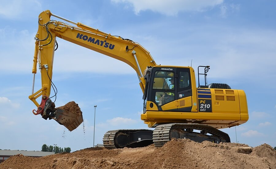 we service and repair all makes of excavators